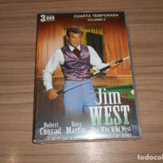 Cine: JIM WEST THE WILD WEST TEMPORADA 4 VOLUMEN 2 3 DVD 600 MIN. NUEVA PRECINTADA. Lote 279374183