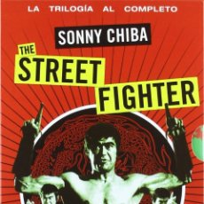 Cine: THE STREET FIGHTER -SONNY CHIBA -PACK TRILOGIA COMPLETA - ARTES MARCIALES . Lote 193241468