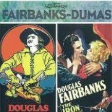 Cine: FAIRBANKS - DUMAS PACK 2 DVD'S + LIBRETO - LOS 3 MOSQUETEROS Y LA MASCARA DE HIERRO -NUEVO. Lote 193250995