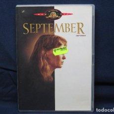 Cinema: SEPTEMBER - DVD . Lote 193263786