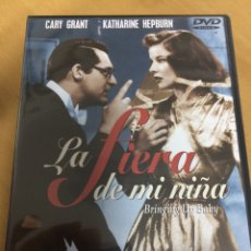 Cine: LA FIERA DE MI NIÑA. CARY GRANT. KATHERINE HEPBURN. NUEVA PRECINTADA. Lote 193381858