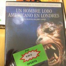 Cine: UN HOMBRE LOBO AMERICANO EN LONDRES. JOHN LANDIS. NUEVA PRECINTADA.. Lote 193382050