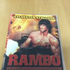 Cine: RAMBO II SILVESTER STALLONE. CAJA SLIM. Lote 193385142