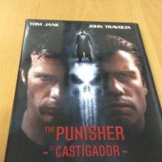 Cine: THE PUNISHER. EL CASTIGADOR. JOHN TRAVOLTA. Lote 193386062