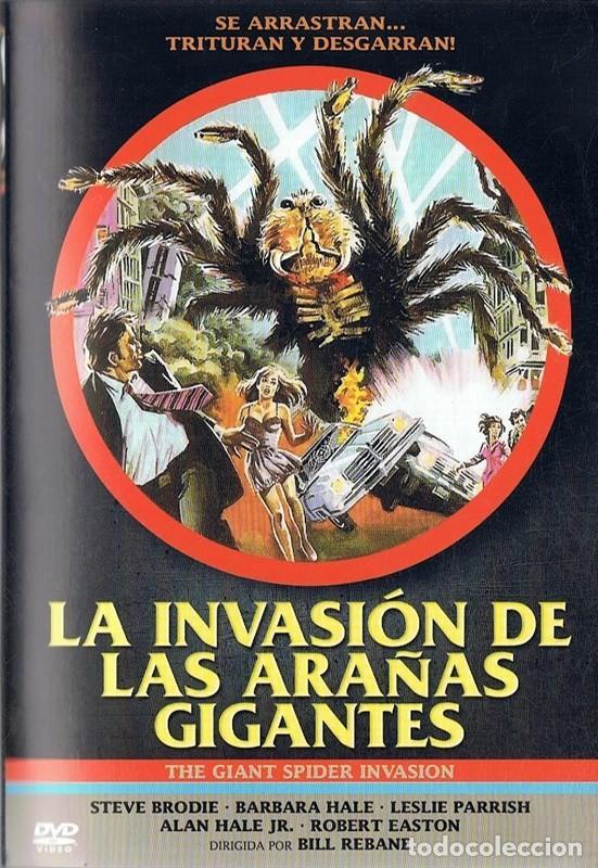LA INVASIÓN DE LAS ARAÑAS GIGANTES STEVE BRODIE (Cine - Películas - DVD)