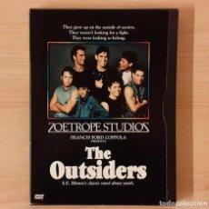 Cine: REBELDES (THE OUTSIDERS) FRANCIS FORD COPPOLA (VERSIÓN ESTRENADA EN CINES 1982) ZONA 1 SUBT. INGLÉS. Lote 193564233