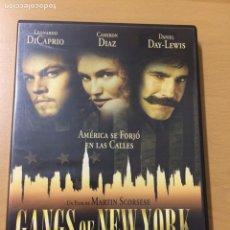 Cine: GANGA OF NEW YORK. LEONARDO DI CAPRIO. CAMERÓN DIAZ. Lote 193843337