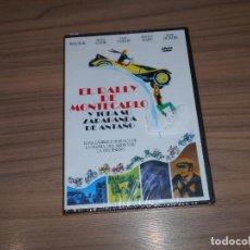 Cinema: EL RALLY DE MONTECARLO Y TODA SU ZARABANDA DE ANTAÑO DVD BOURVIL TONY CURTIS NUEVA PRECINTADA. Lote 238297680