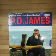 Cinema: P.D . JAMES -DVD-PRECINTADO. Lote 193949307