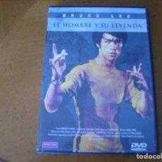 Cine: EL HOMBRE Y SU LEYENDA / DVD. Lote 193974156