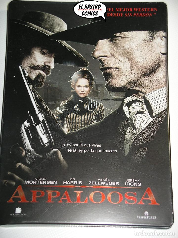 APPALOOSA, EDICION ESPECIAL CAJA METÁLICA DOS DVD, ED HARRIS, JEREMY IRONS, MORTENSEN, ZELLWEGER, D1 (Cine - Películas - DVD)