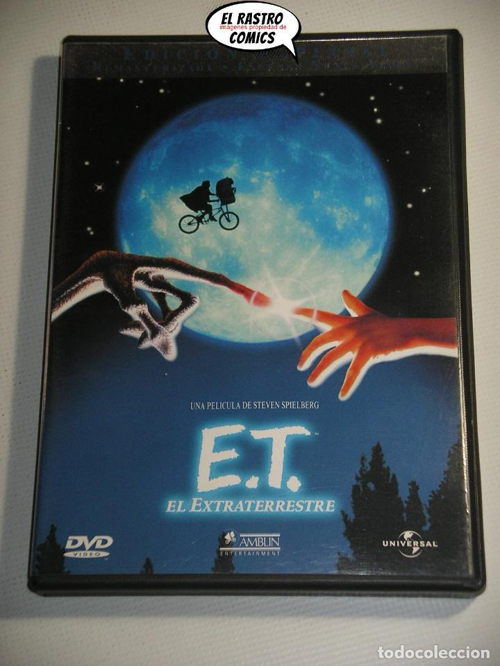 Cine: ET El extraterrestre, Edicion especial coleccionista extenso libreto y estuche, dos DVD, E T, D1 - Foto 3 - 194011995