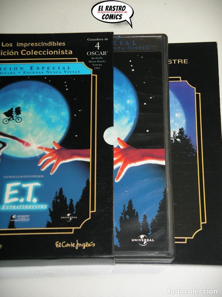 ET EL EXTRATERRESTRE, EDICION ESPECIAL COLECCIONISTA EXTENSO LIBRETO Y ESTUCHE, DOS DVD, E T, D1 (Cine - Películas - DVD)