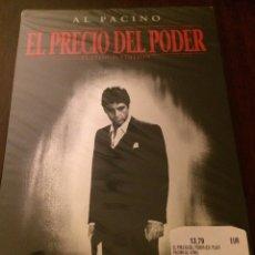 Cine: EL PRECIO DEL PODER. AL PACINO. PRECINTADA.. Lote 194088565