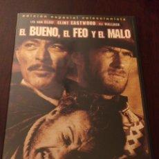 Cine: EL BUENO EL FEO Y EL MALO. CLINT EASTWOOD, EDICIÓN ESPECIAL COLECCIONISTAS. Lote 194089193