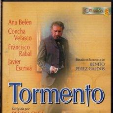 Cinéma: TORMENTO DVD ( FRANCISCO RABAL + CONCHA VELASCO) - UNA CUIDADA RECREACIÓN DEL LIBRO DE BENITO GALDOS. Lote 194095190