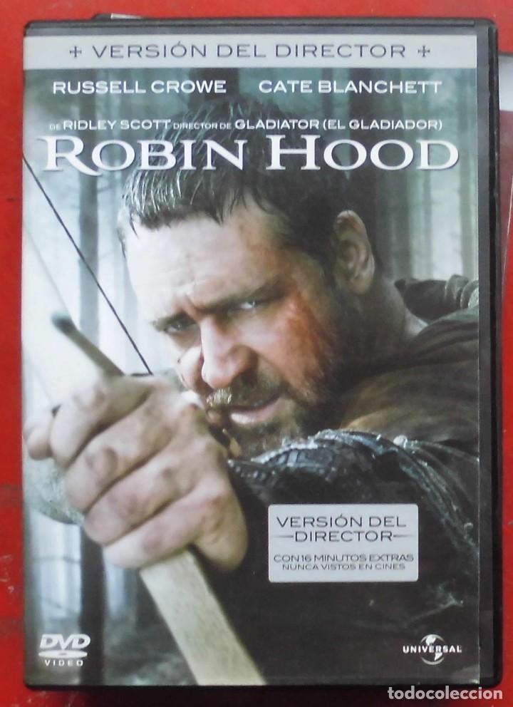 ROBIN HOOD - RUSSELL CROW (Cine - Películas - DVD)
