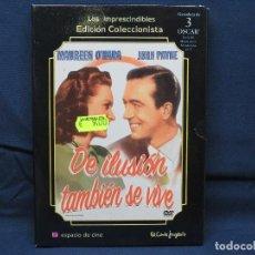 Cinema: DE ILUSION TAMBIEN SE VIVE - DVD. Lote 194114260