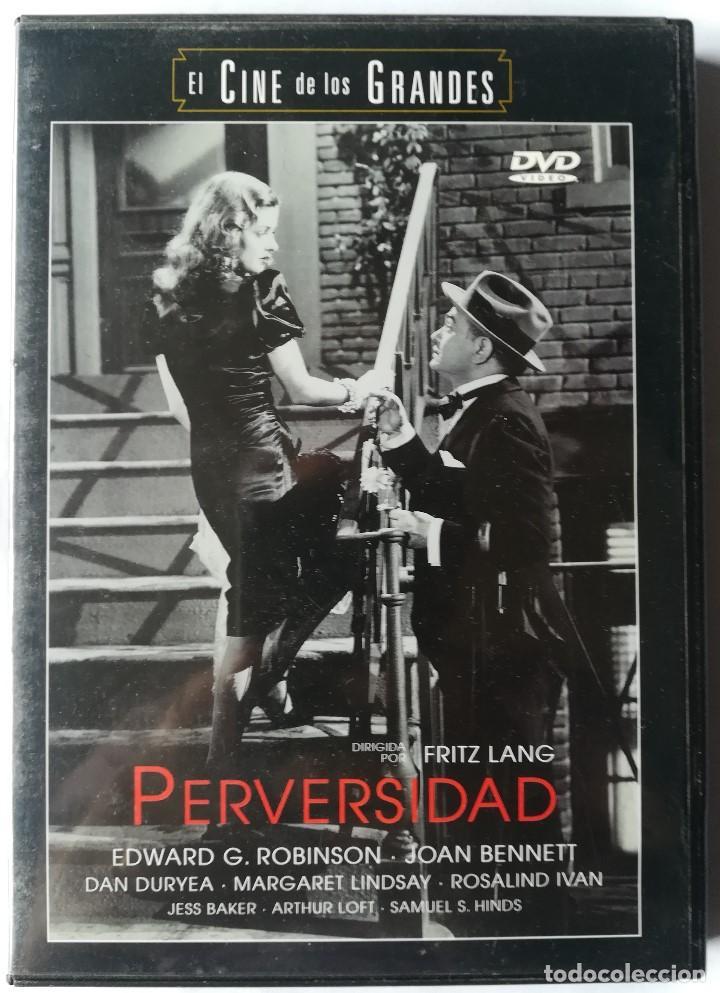 DVD - PERVERSIDAD - FRITZ LANG (Cine - Películas - DVD)