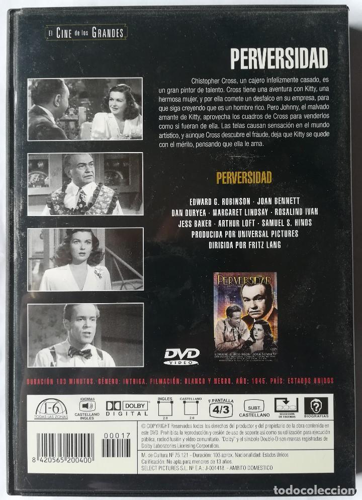 Cine: DVD - Perversidad - Fritz Lang - Foto 2 - 194185771