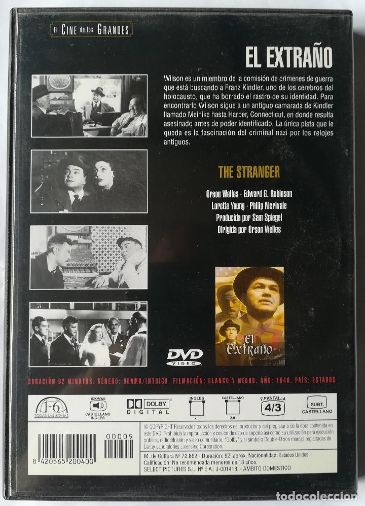 Cine: DVD - El Extraño - Orson Welles - Foto 2 - 194185827
