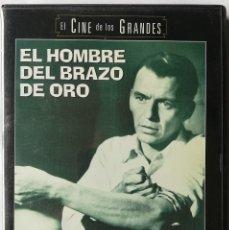 Cine: DVD - EL HOMBRE DEL BRAZO DE ORO - FRANK SINATRA. Lote 194185906