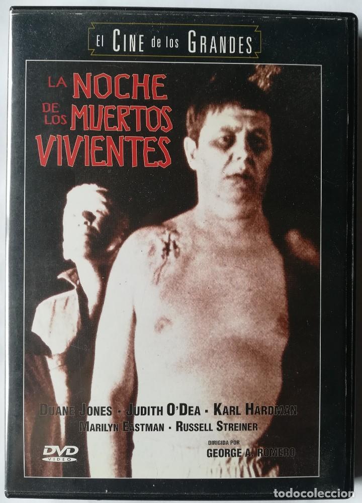 DVD - LA NOCHE DE LOS MUERTOS VIVIENTES - GEORGE A. ROMERO (Cine - Películas - DVD)