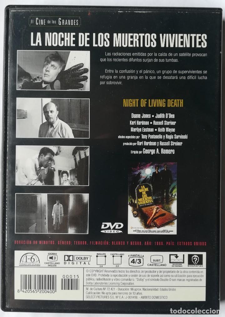 Cine: DVD - La Noche de Los Muertos Vivientes - George A. Romero - Foto 2 - 194185962