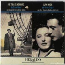 Cine: DVD - EL TERCER HOMBRE + JUAN NADIE. Lote 194186045