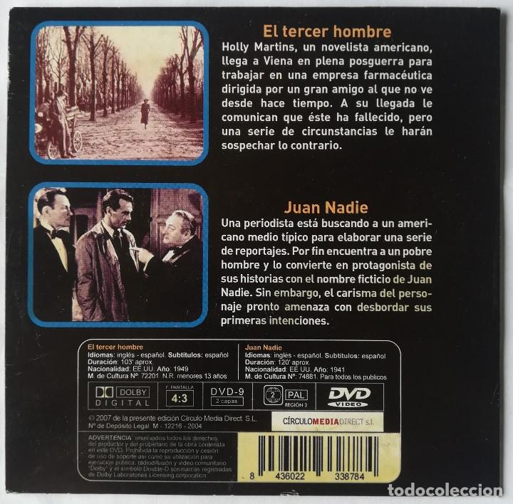 Cine: DVD - El Tercer Hombre + Juan Nadie - Foto 2 - 194186045
