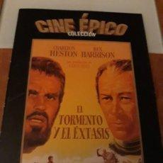 Cine: EL TORMENTO Y EL ÉXTASIS. COLECCION CINE EPICO. LA RAZON. Lote 194189305