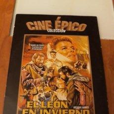 Cine: EL LEÓN EN INVIERNO. COLECCION CINE EPICO. LA RAZON. Lote 194189507
