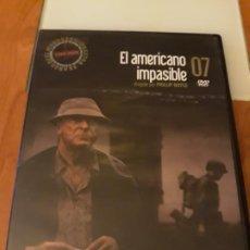 Cine: EL AMERICANO IMPASIBLE. BIBLIOTECA EL MUNDO. 7. Lote 194194236