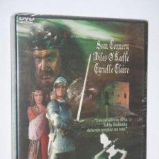 Cinema: EL CABALLERO VERDE (SEAN CONNERY, EMMA SUTTON) *** DVD CINE AVENTURA / FANTASÍA (PRECINTADO) . Lote 194206980