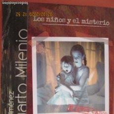 Cine: CUARTO MILENIO Nº 1 - IKER JIMÉNEZ - LOS NIÑOS Y EL MISTERIO - CUATRO - EL PAÍS - 2008 - LIBRO+DVD. . Lote 194217632