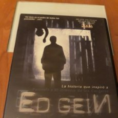 Cine: ED GEIN. COLECCION CINE DE TERROR. Lote 194218090