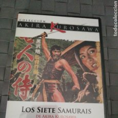 Cine: LOS SIETE SAMURAIS. COLECCIÓN AKIRA KUROSAWA. NUEVO, PRECINTADO.. Lote 194218267