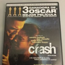 Cine: DVD CRASH. Lote 194230931