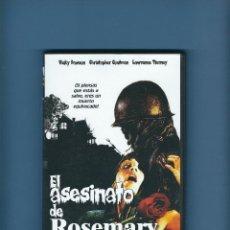 Cine: DVD - EL ASESINATO DE ROSEMARY - TERROR. Lote 194231632