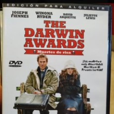 Cine: DVD THE DARWIN AWARDS ( MUERTES DE RISA). Lote 194231765