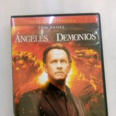 Cine: DVD ANGELES Y DEMONIOS. Lote 194231993