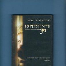 Cine: DVD - EXPEDIENTE 39 - TERROR. Lote 194232007