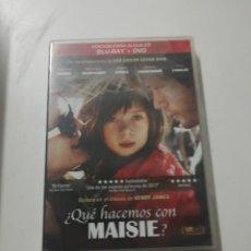 Cine: DVD - QUE HACEMOS CON MAISIE. Lote 194233128