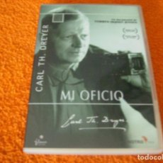 Cine: MI OFICIO / CARL TH. DREYER - V.O.S. SUBTITULOS EN CASTELLANO. Lote 194248812