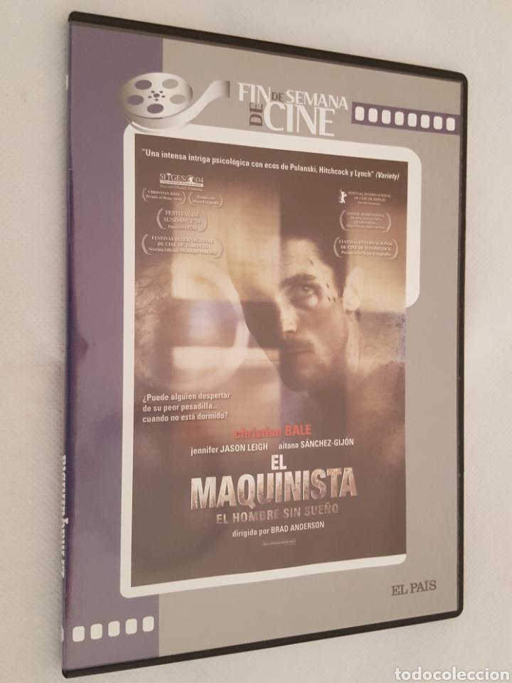 DVD CINE / EL MAQUINISTA DE BRAD ANDERSON / NUEVA, EN CAJA DELGADA. (Cine - Películas - DVD)