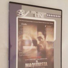Cine: DVD CINE / EL MAQUINISTA DE BRAD ANDERSON / NUEVA, EN CAJA DELGADA.. Lote 194253515