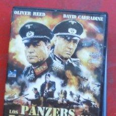 Cine: LOS PANZERS DE LA MUERTE. Lote 194256125