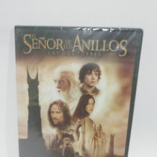 Cine: (DVS6)EL SEÑOR DE LOS ANILLOS LAS DOS TORRES - DVD SEGUNDA MANO TAPA FINA. Lote 194265467
