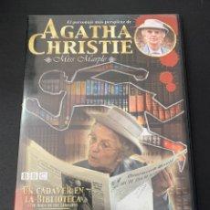 Cine: (14119) AGATHA CHRISTIE - UN CADAVER EN LA BIBLIOTECA ( DVD SEGUNDA MANO ). Lote 194265576