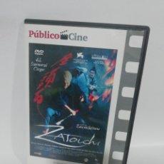 Cine: (DVS5) ZAITOCHI - DVD SEGUNDA MANO TAPA FINA. Lote 194271870